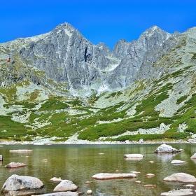 Vysoké Tatry - pohled na Lomnický štít