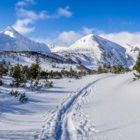 Zasněžené Vysoké Tatry