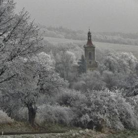 venkov v zimě