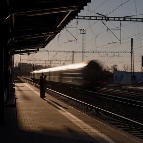 Čekání na vlak