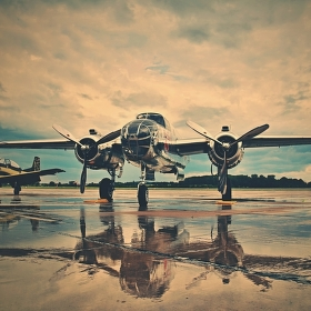 N6123C - B-25J Mitchell...v celé své kráse