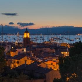 Saint Tropez, trošku rušno v zálivu četníckém :-)