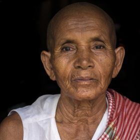 Portrét z Kambodže
