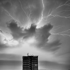 Bouřka nad Rozdělovem