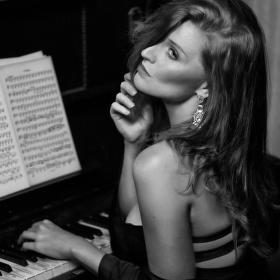piano lesson....