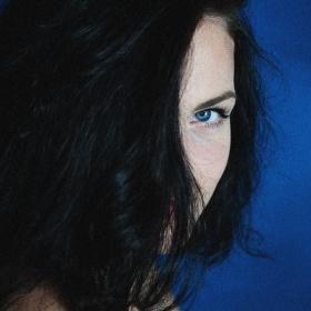 ..deep blue...
