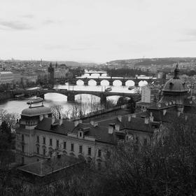 Ráno v Praze