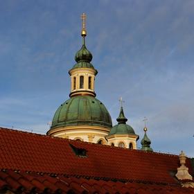 Kostel Panny Marie Vítězné na Bílé Hoře v Praze.