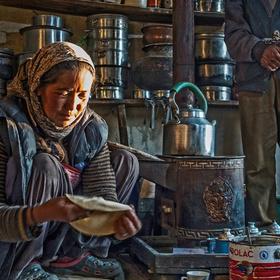 Ladakhská rodina
