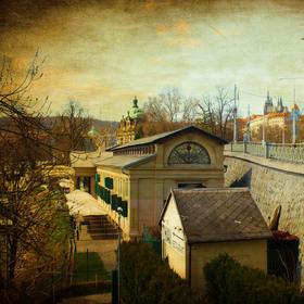 plovárna na Vltave