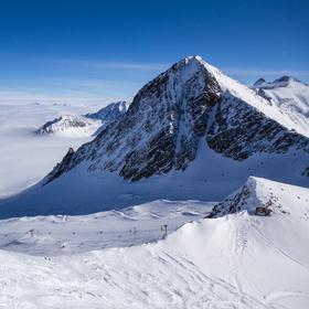 Na vrcholku Stubaiských Alp
