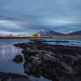 Večerní Island