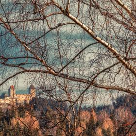 ...a támhle ja hrad Kašperk...