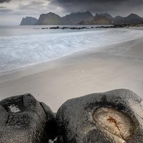 Storsandnes Beach_Lofoty_Norsko
