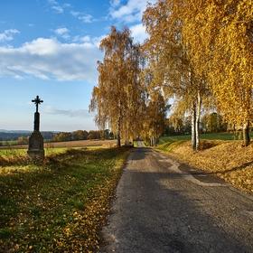 Zlatý podzim na Vysočině