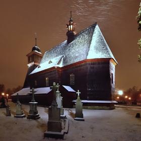 Dřevěný kostel.sv.Kateřiny,Ostrava - Hrabová II