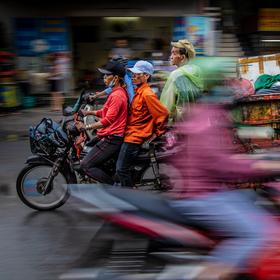 Šrumec v Saigonu