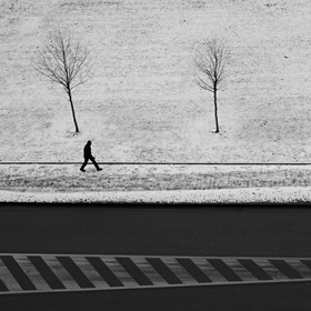 Osamělý  ve městě