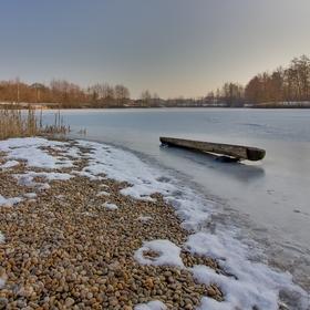 Zamrzlá lavička
