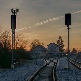 Na ranní vlak