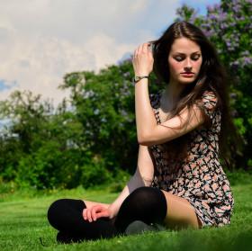 Luční dívka