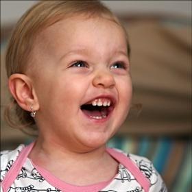 ...vnučka ... ale ten smích ....