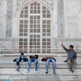 Pohoda na Taj Mahalu