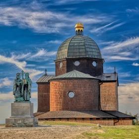 Radhošť - Kaple sv.Cyrila a Metoděje