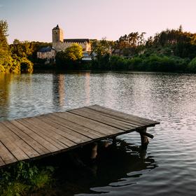Hrad Kost a Bílý rybník
