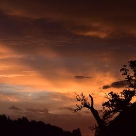 muj první západ slunce