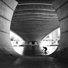 Pod Trojským mostem.