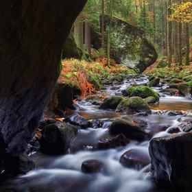 Řeka prastarého údolí