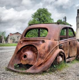 Oradour-sur-Glane Francie