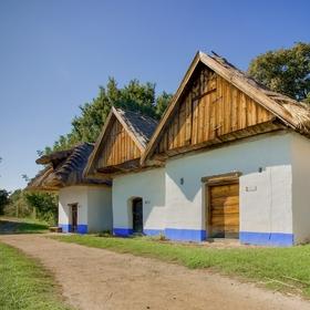 Vinohradnické stavby ve skanzenu Strážnice
