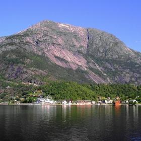 U norského fjordu