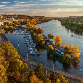 Podzimní Praha