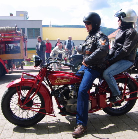 Indian Scout a jeho posádka