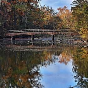 Pětiobloukový most v Lednickém parku
