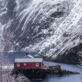 Chata na Fjordu