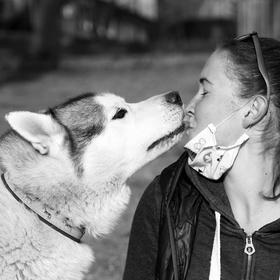 Dej mi pusu :)