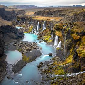 Islandská scenérie