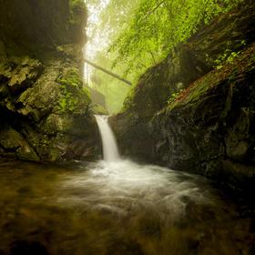 Vodopád Stříbrného potoka (Nýznerovský)