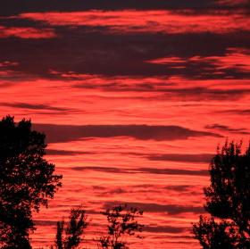 ..bloody sunset..