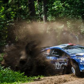 WRC Rally Poland 2014 - Michal Solowow