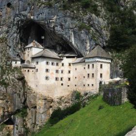 Predjamský hrad- Slovinsko