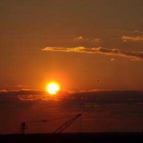 Západ Slunce na Skalici