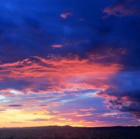 Západ slunce čaruje