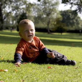 moj syncek v parku