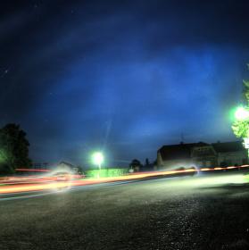 Noční život na vesnici