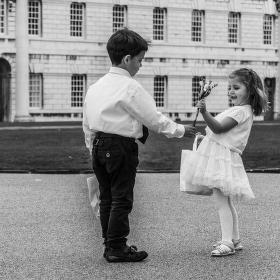 Svatba v Greenwich